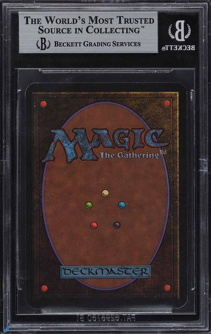 1993 Magic The Gathering MTG Alpha Black Lotus R A BGS 9 MINT - Image 2