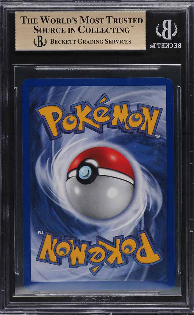 1999 Pokemon Base Set 1st Edition Holo Charizard THICK STAMP #4 BGS 9.5 GEM - Image 2