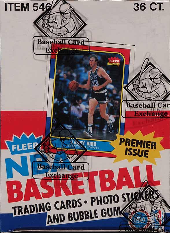 1986 Fleer Basketball Wax Box, 36ct Pack, Michael Jordan RC BBCE AUTH LOA - Image 1