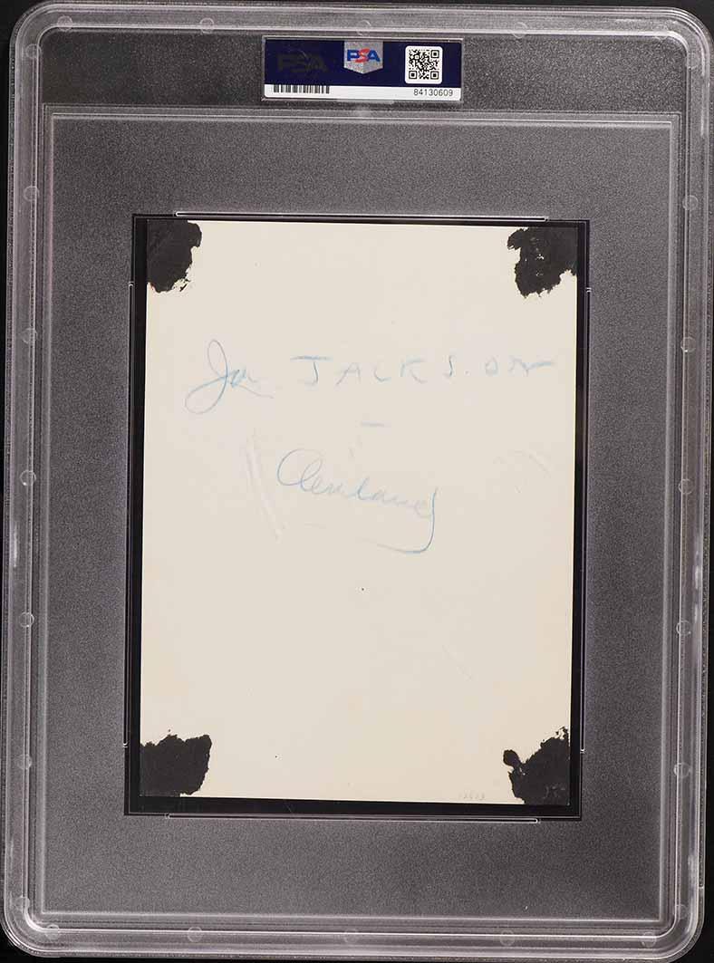 1913 Original Charles Conlon Photograph Shoeless Joe Jackson, TYPE I PSA/DNA - Image 2