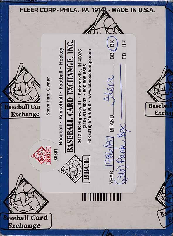 1986 Fleer Basketball Wax Box, 36ct Pack, Michael Jordan RC BBCE AUTH LOA - Image 2