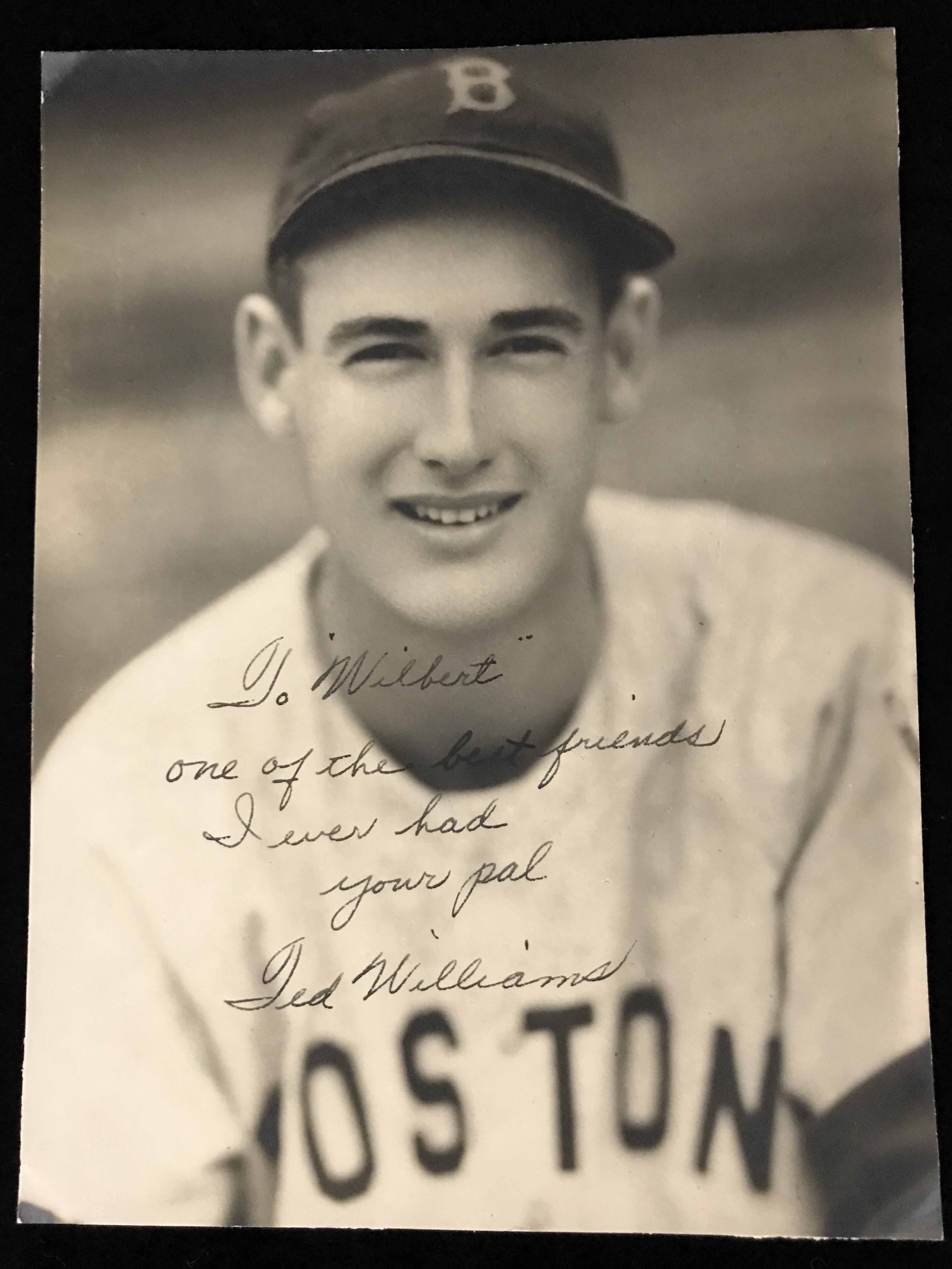 Ted Williams 1938-39 Game Used Rookie Era Glove + Auto PSA/DNA - Image 17