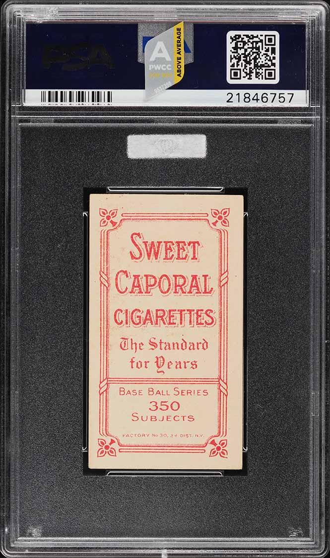 1909 T206 Ty Cobb PORTRAIT-RED PSA 6 EXMT - Image 2