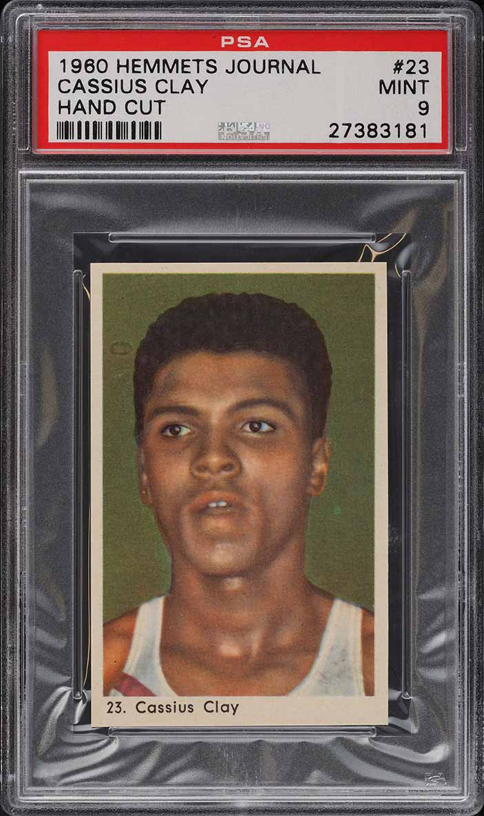 1960 Hemmets Journal Boxing Cassius Clay Muhammad Ali ROOKIE RC PSA 9 MT - Image 1